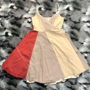 RARE AllSaints Flag Color block Wrap Skirt Set